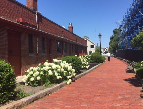Hingham downtown parking update; tunnel cap cleanup