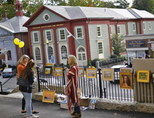 Hingham Arts Walk a Success