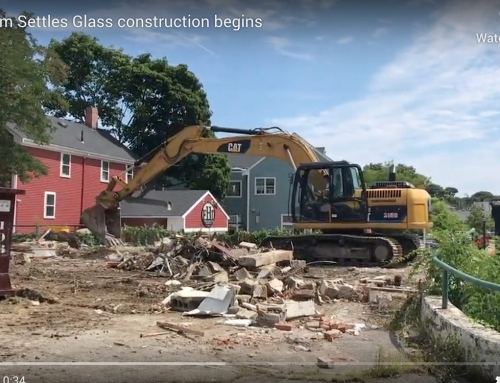 New building on Hingham Settles Glass site to be completed by fall 2020